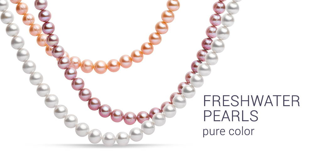 Shop our Freshwater Pearl Jewlery Collections
