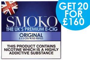 Authentique offre de recharge de cigarettes électroniques au tabac