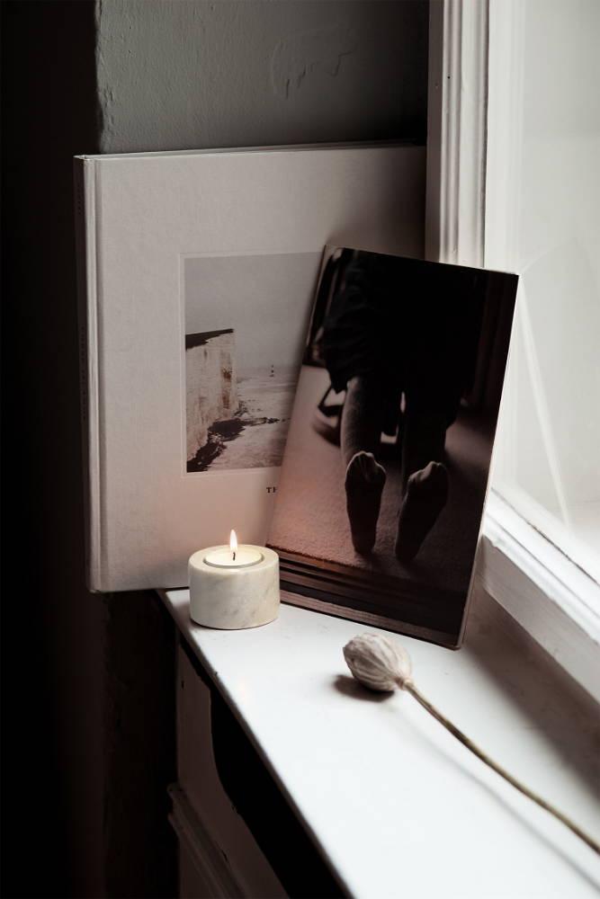 Kerze Ruhe Zeit für mich