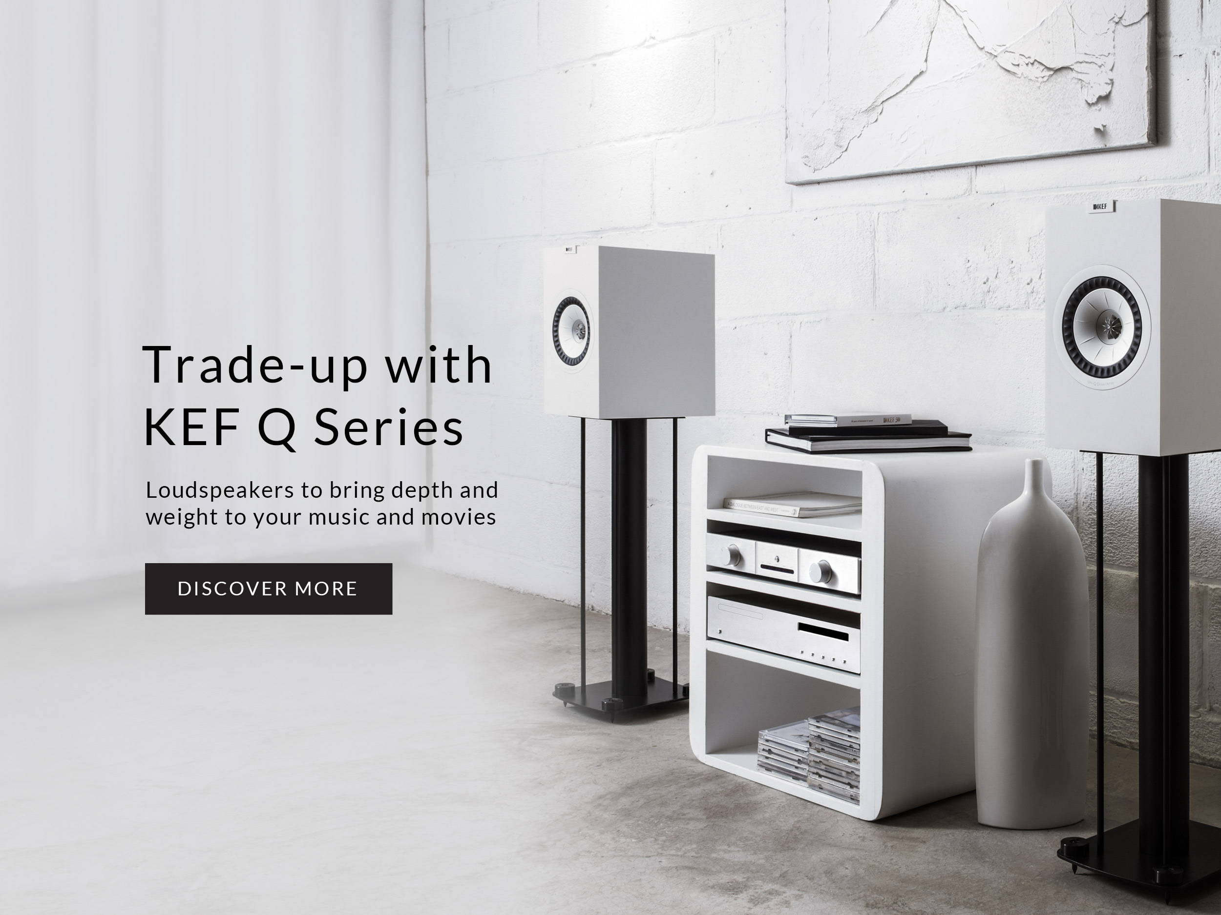 Trade-up with KEF Q series