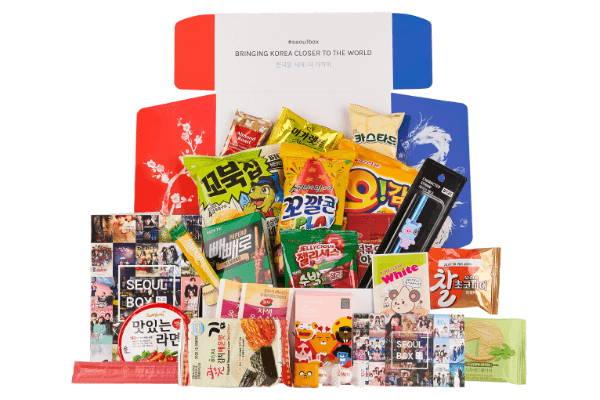 Korean snack box Signature SeoulBox