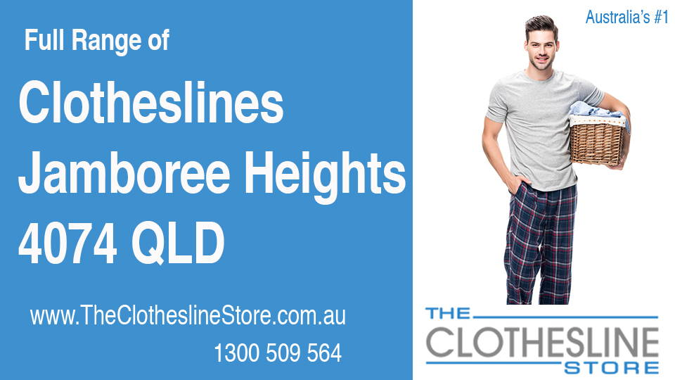 New Clotheslines in Jamboree Heights Queensland 4074