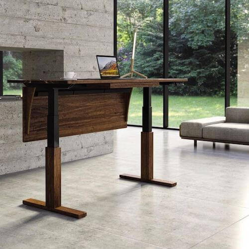 Copeland Invigo Sit Stand Desk with Modest Panel