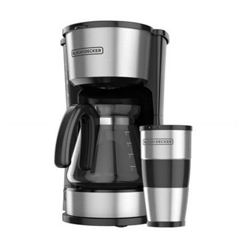 BLACK & DECKER Coffeemaker 4 en 1 5 Tz. CM0755S-LA