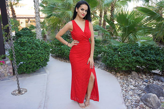 All Eyes On You Glam Red Sleeveless Maxi Dress