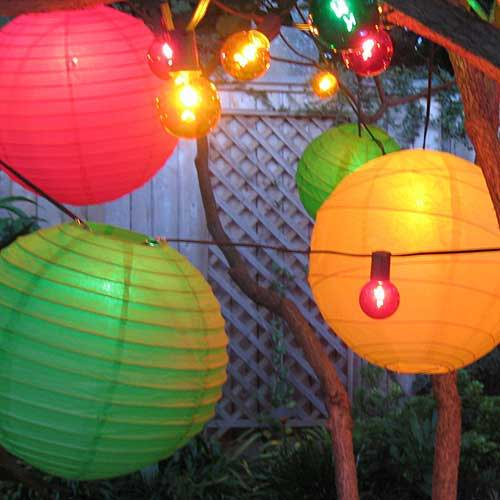 Color Theme String Lights & Decor Lighting