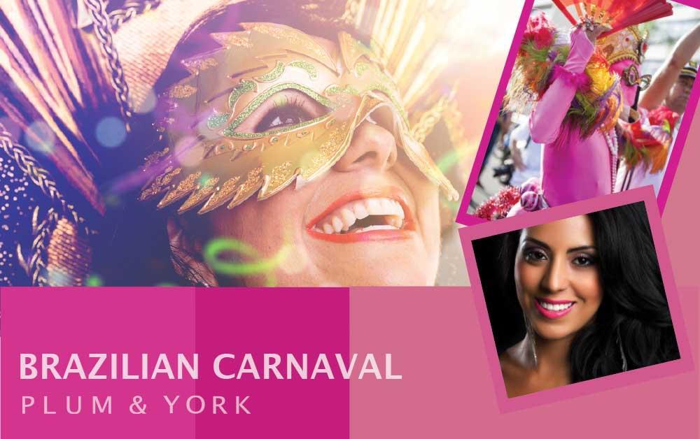 Brazilian Carnaval lipstick by Plum & York