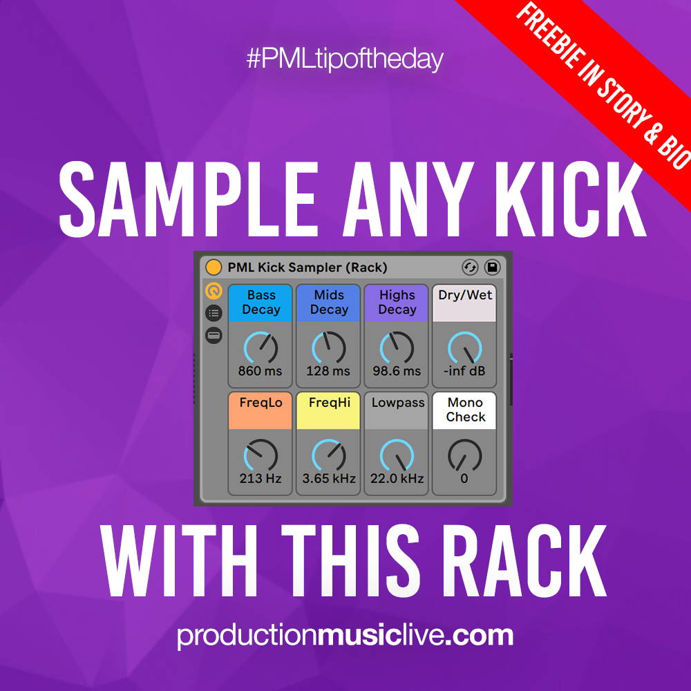 sample any kick
