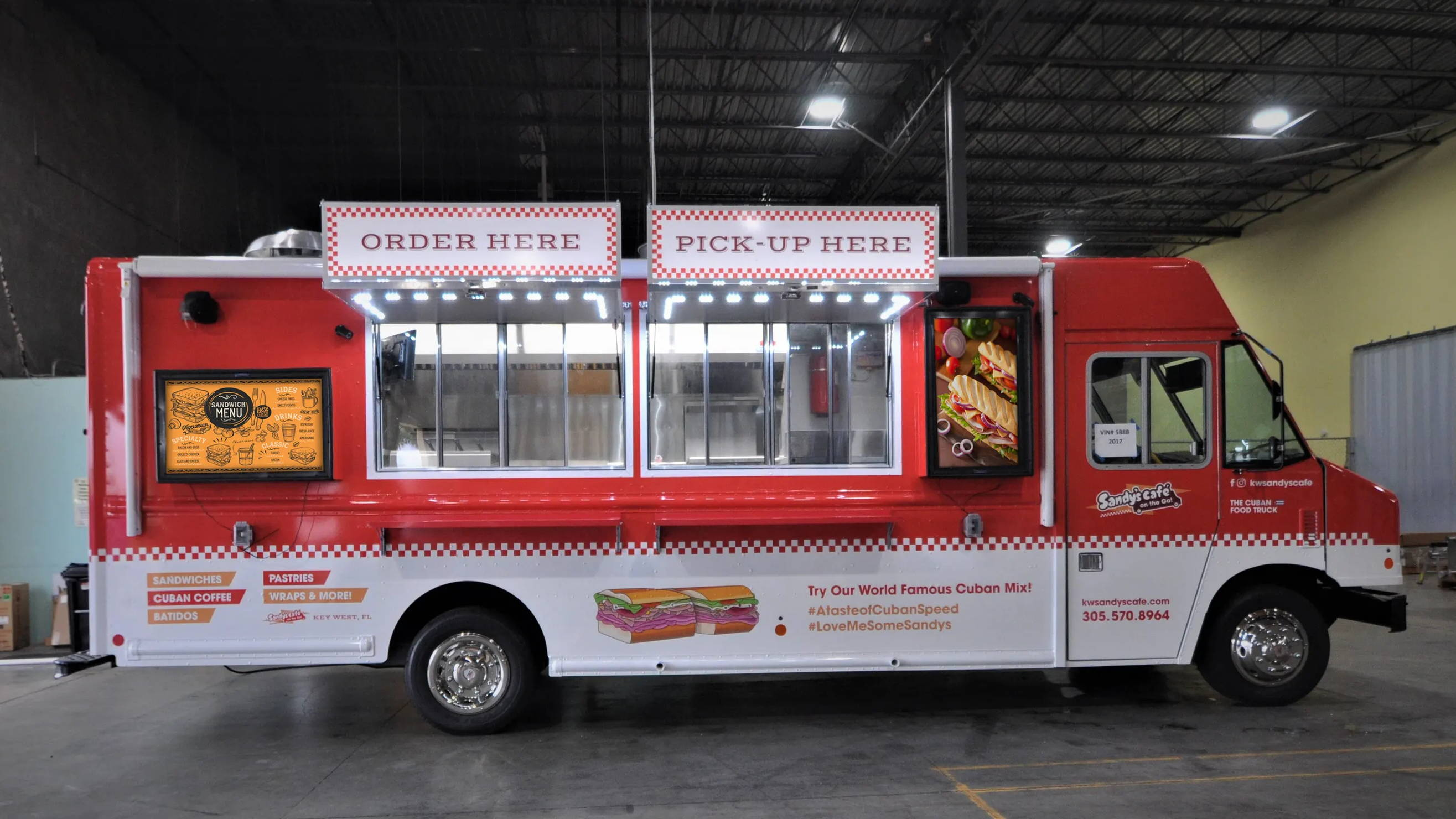 The Display Shield® Food Truck Installation (Landscape and Portrait)