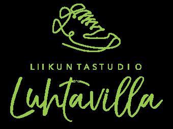 Puinen logokyltti yritykselle tilaustyönä - ecodecor.fi - asiakas Luhtavilla