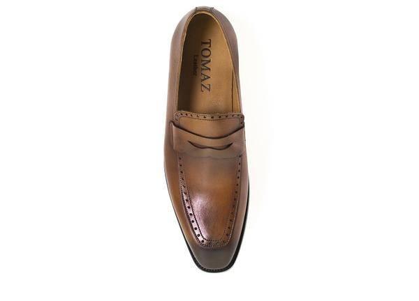 375c3d2583d Tomaz F129 Penny Loafers (Brown) - Tomaz Shoes