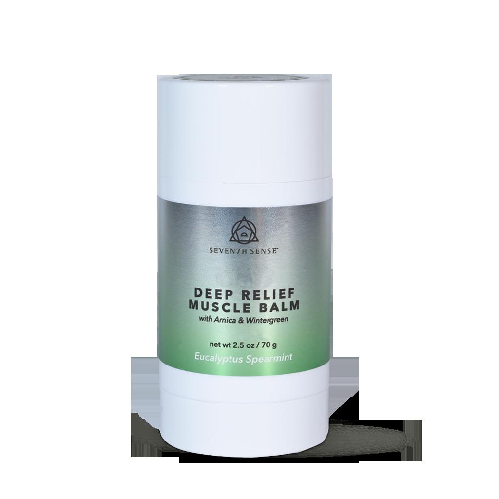 Deep Relief Muscle Balm 500mg Eucalyptus Spearmint