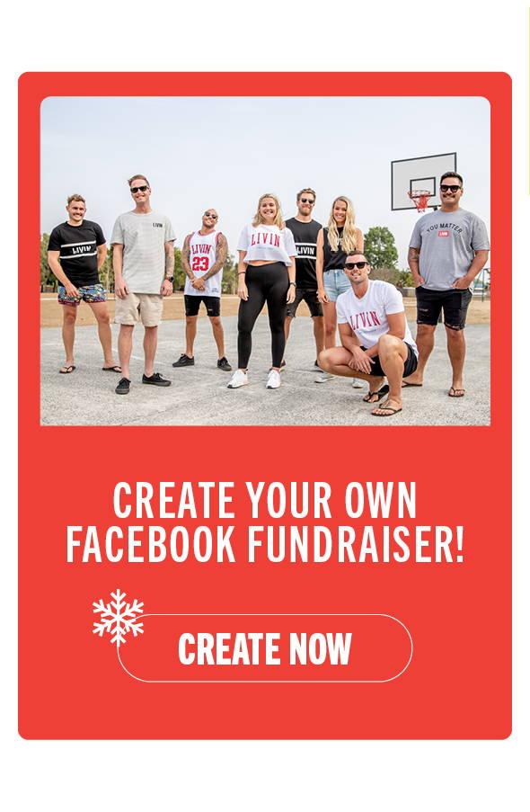 Fundraise through facebook!