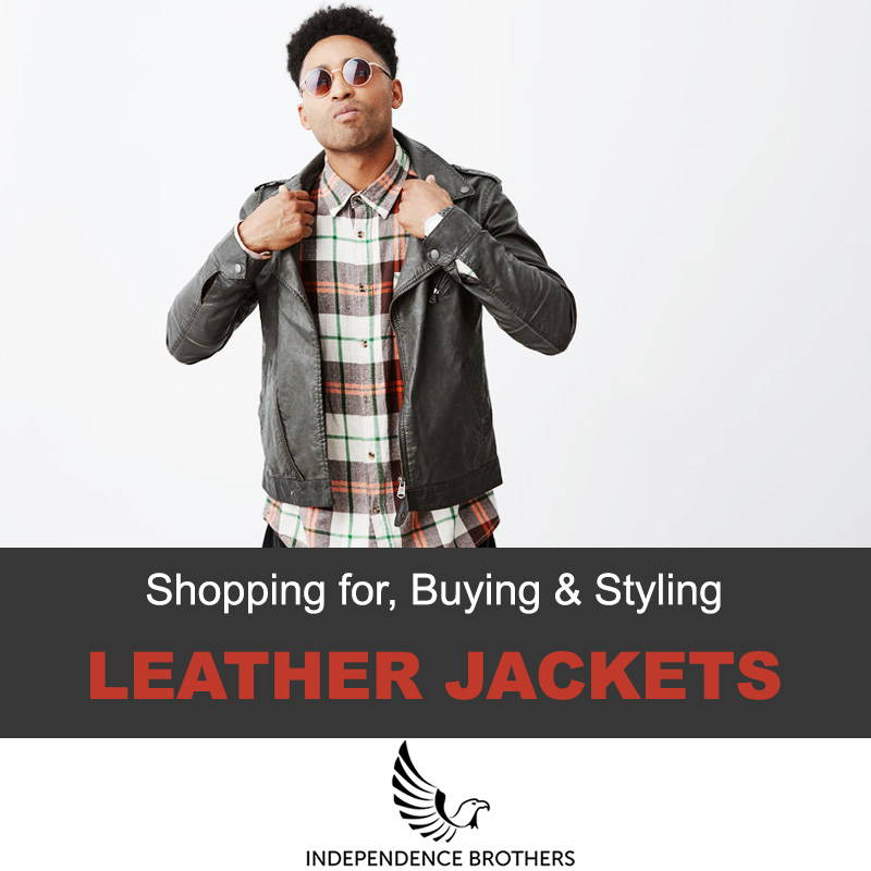 b5464bb5c How A Men's Leather Jacket Should Fit | Real Custom Leather Jackets ...