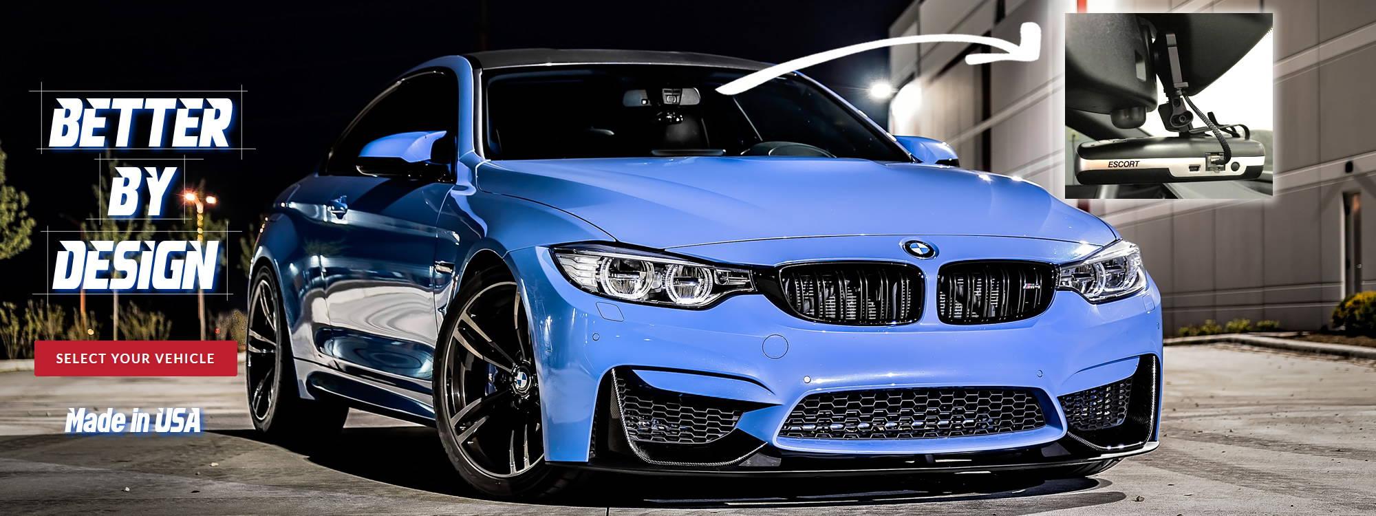 BlendMount Custom BMW rear view mirror