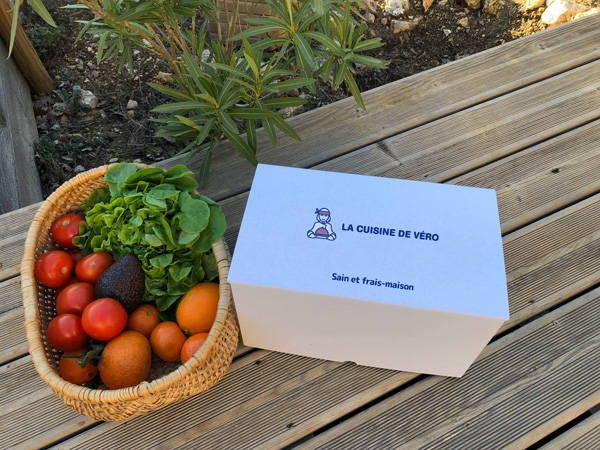 panier fruits et légumes frais La Cuisine de Véro