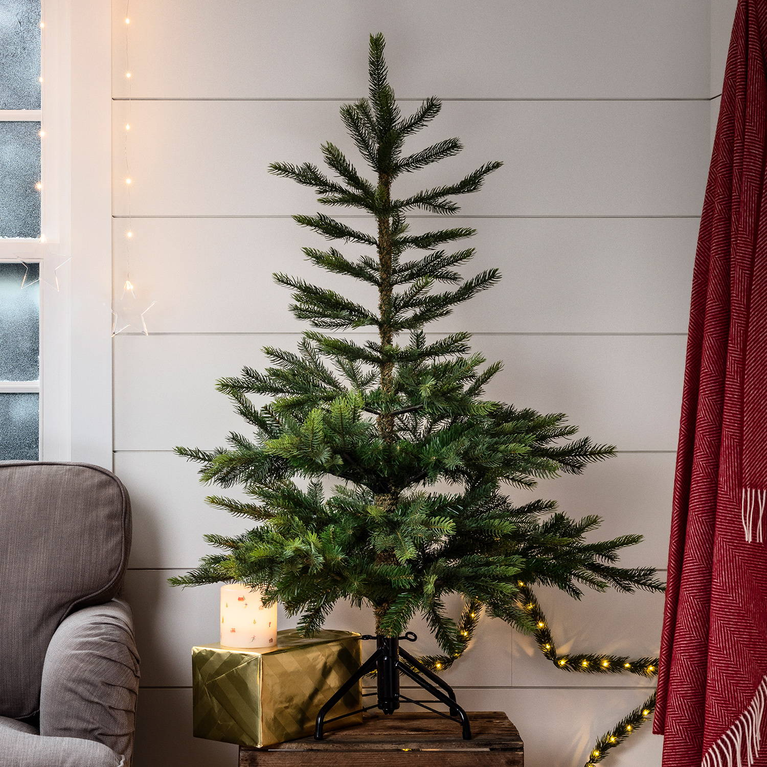 4ft Grandis Fir Artificial Christmas Tree