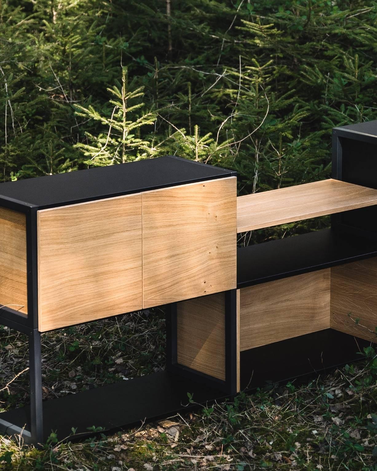 Pazls Sideboard - Holz aus heimischen Wäldern