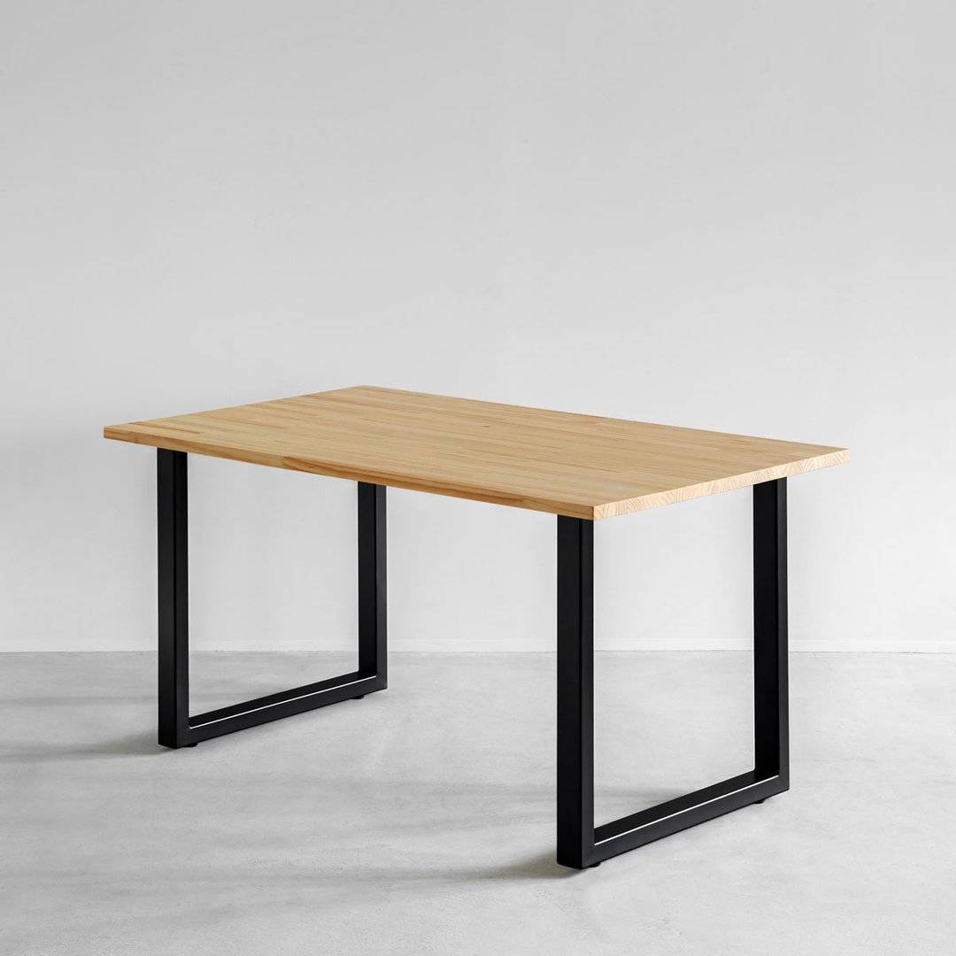 THE TABLE / パイン × Black Steel