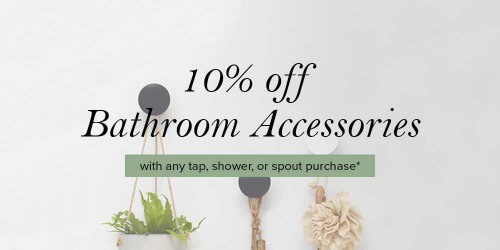The Blue Space Bathroom Accessory Promo 2020