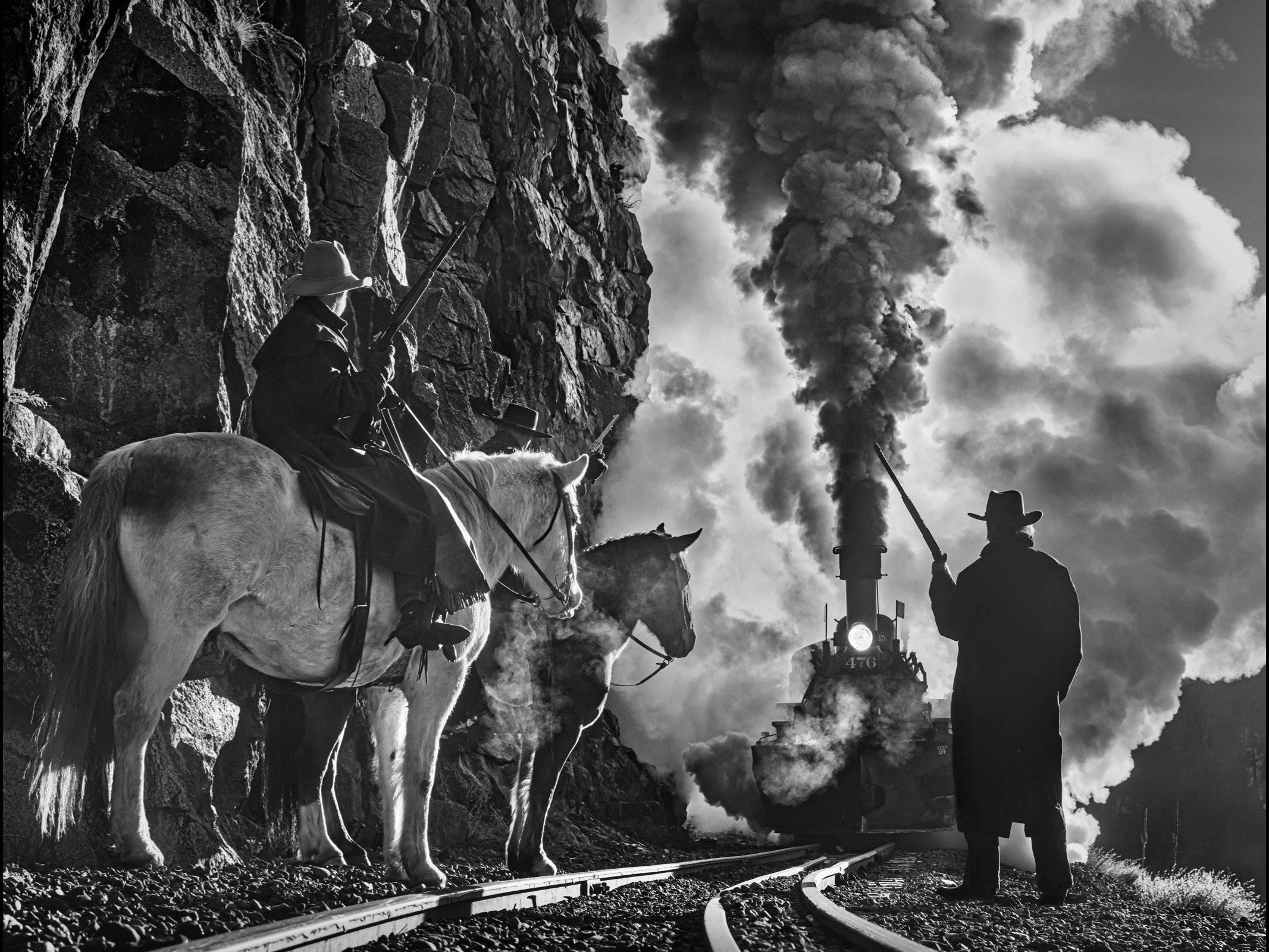 DAVID YARROW. Photography. Durango Train. The Iron Horse. Sorrel sky Gallery