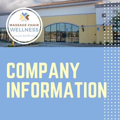 Massage Chair Wellness | Company Information 2018
