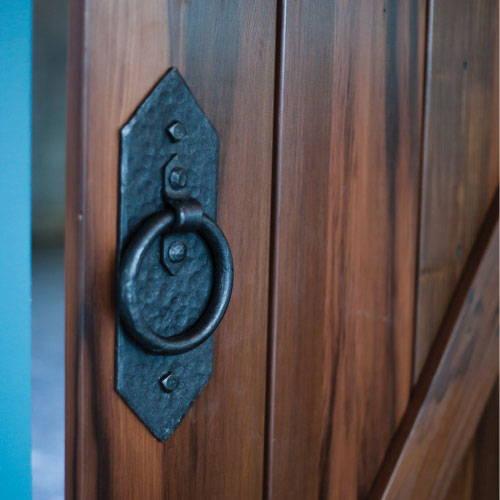 Barn door accessories