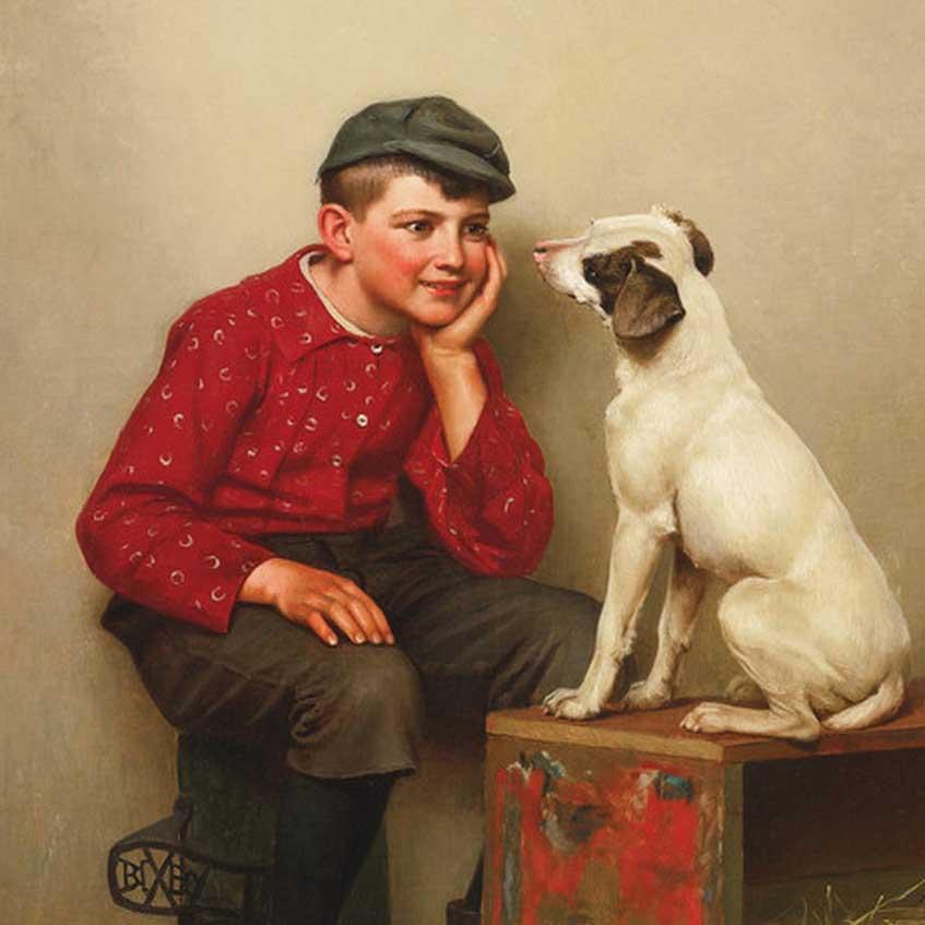 John George Brown Art