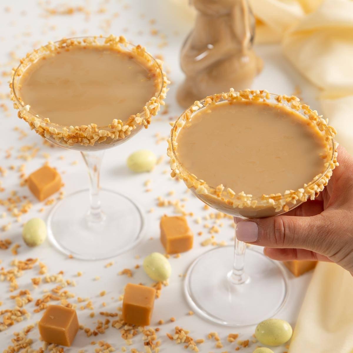 Salted Caramel Peanut Butter Martini Recipe