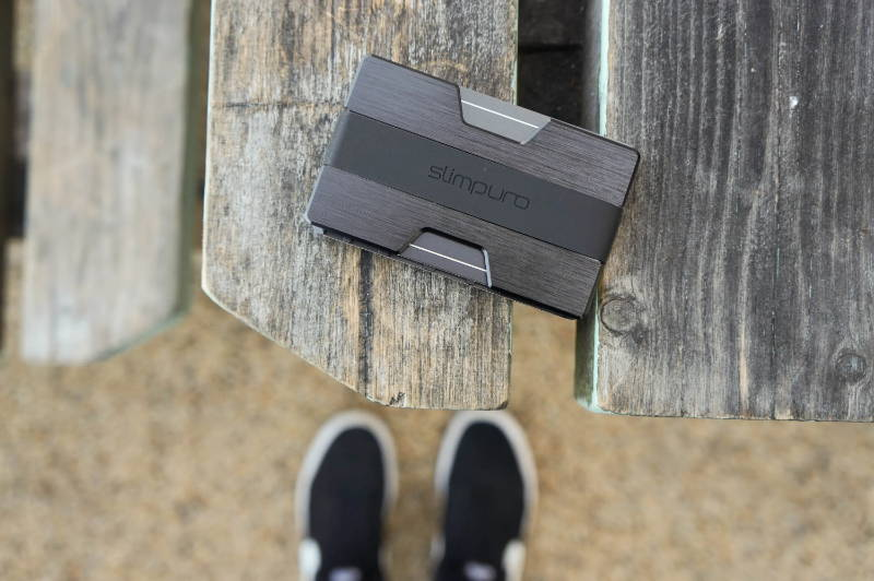 slimpuro slim wallet nano schwarz