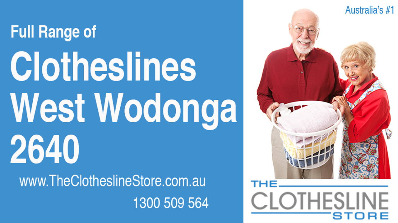 New Clotheslines in West Wodonga 2640