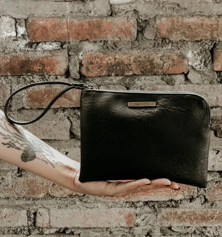 Vegan Leather Clutch & Purse