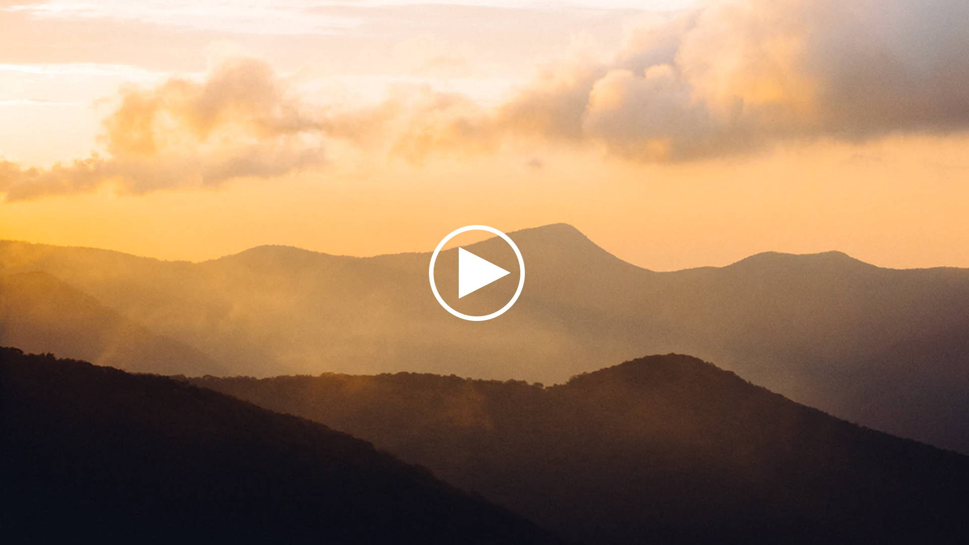 Picture of mountains in the morning that link to Alabaster YouTube video titled: Morning Creativity | Christian Guided Meditation and Prayer