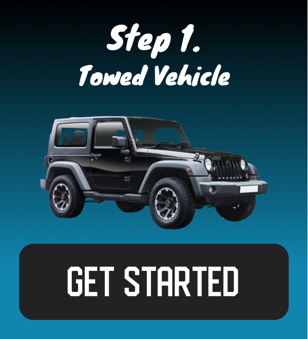 Flat Towing Guide - Towed Vehicle