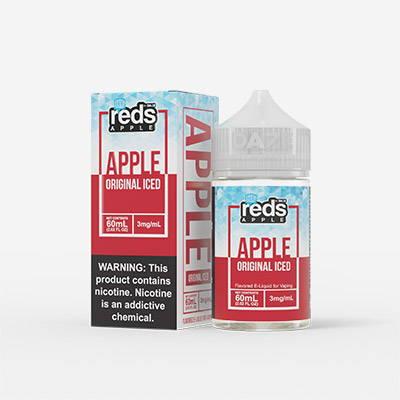 reds apple original iced e liquid