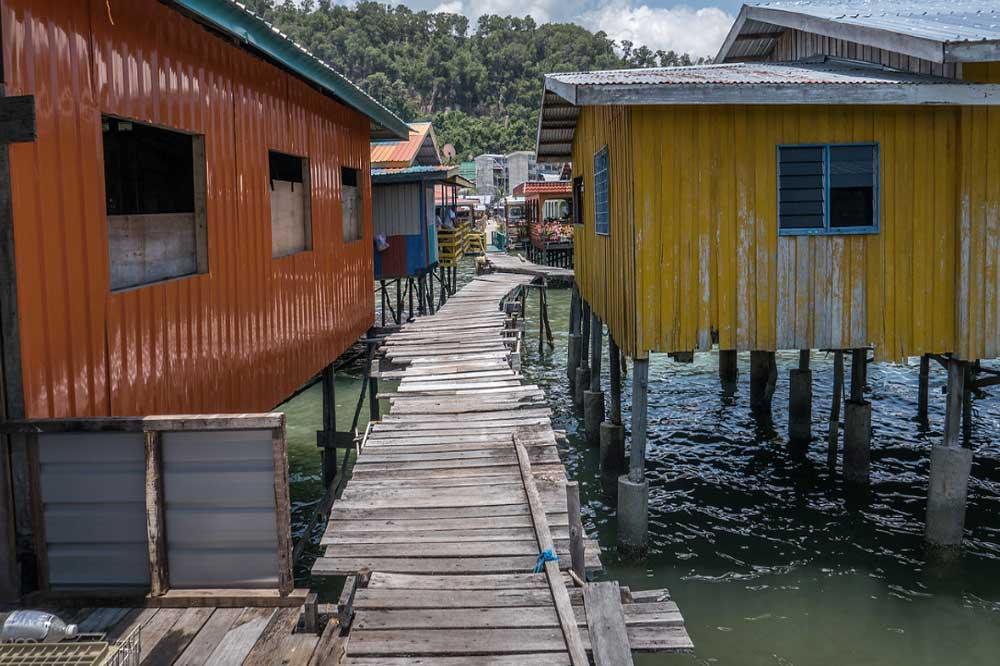 Travelbay Borneo Tours - Customer Reviews - Simon Collard - Sandakan - Sim Sim Water Village