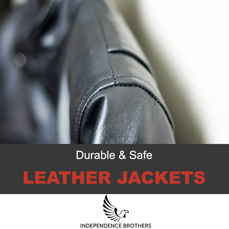 Durable leather jackets