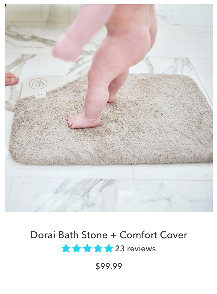 Dorai Bath Stone with Cover