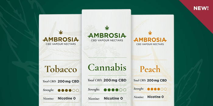Ambrosia CBD Eliquid