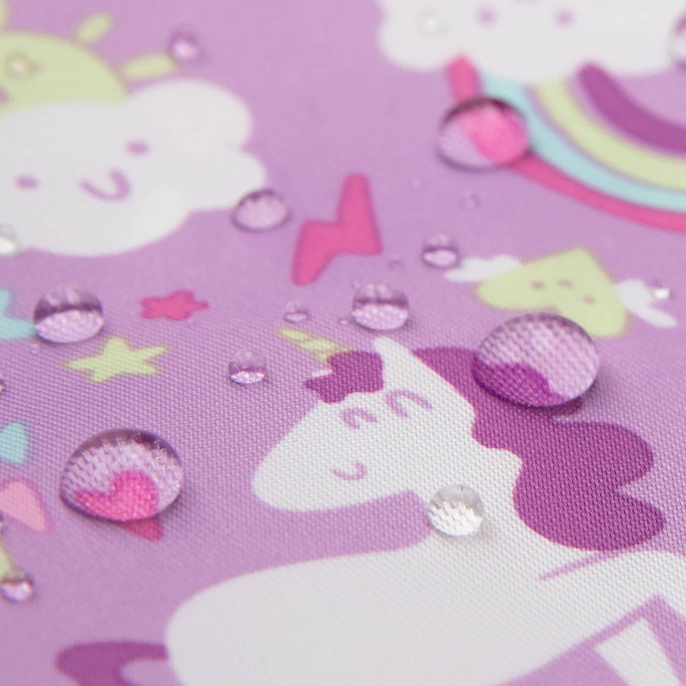waterproof bumkins unicorn fabric
