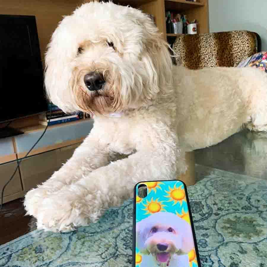 Poodle_custom_desing_phone_cover