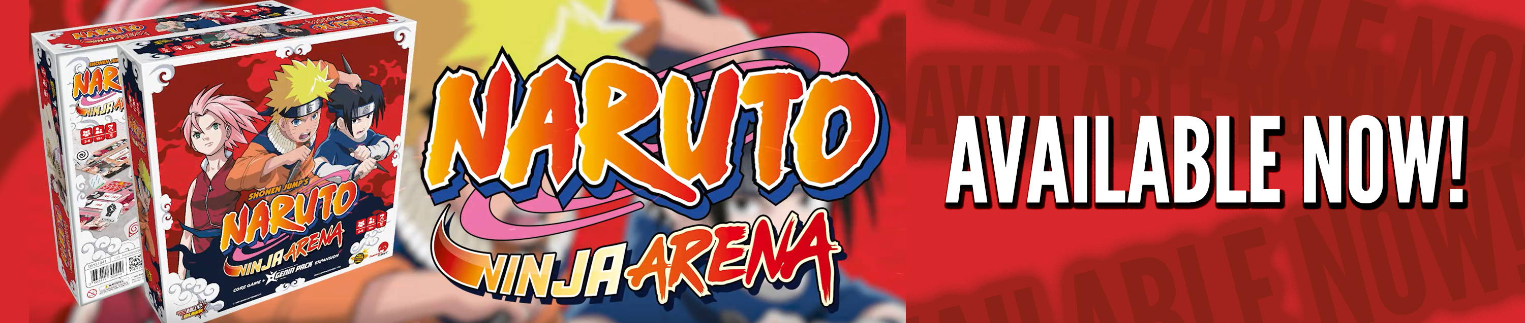 Naruto Available now home page slider