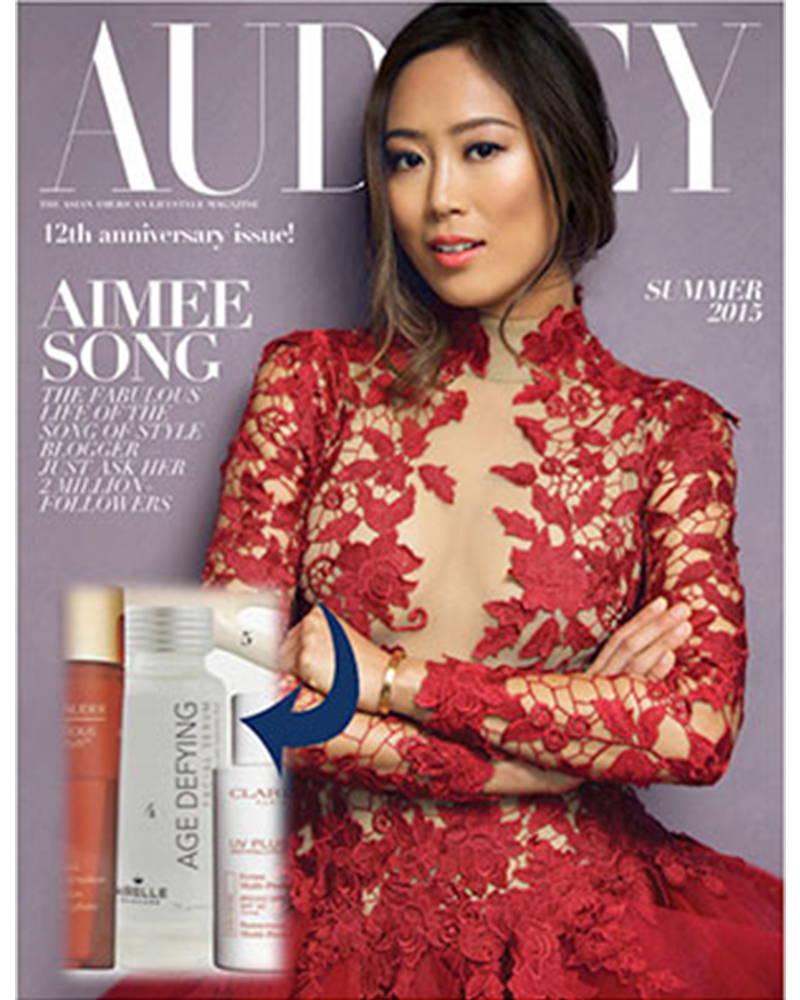 Audrey magazine cover