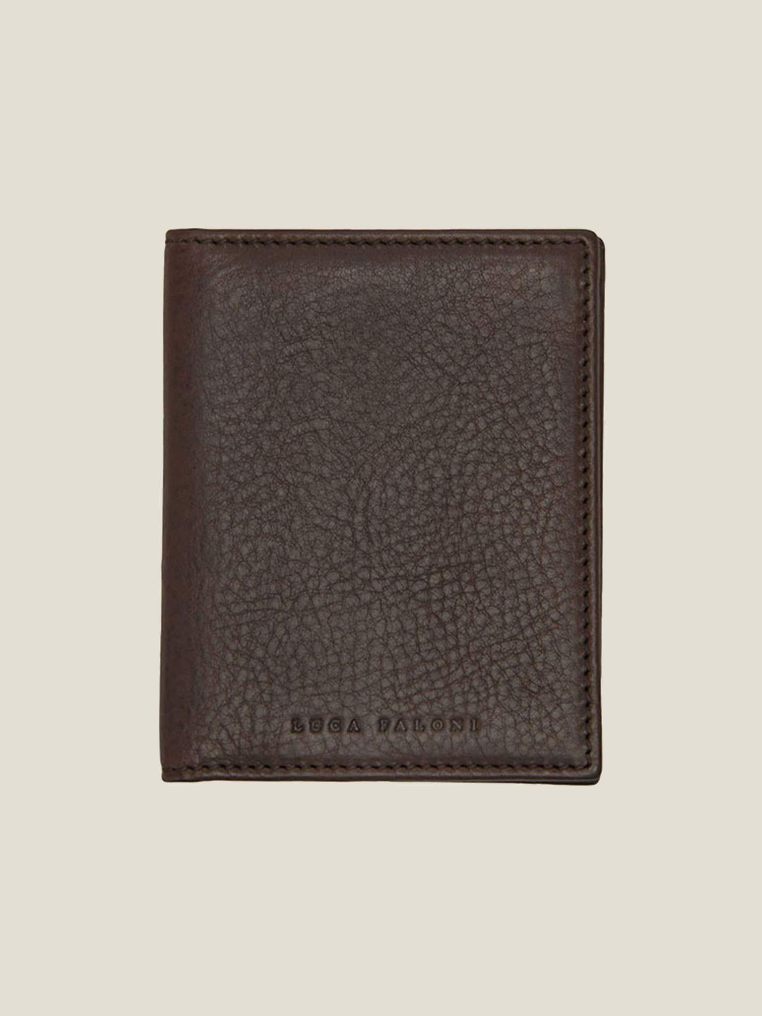 Luca Faloni Leather Wallet made in Italy