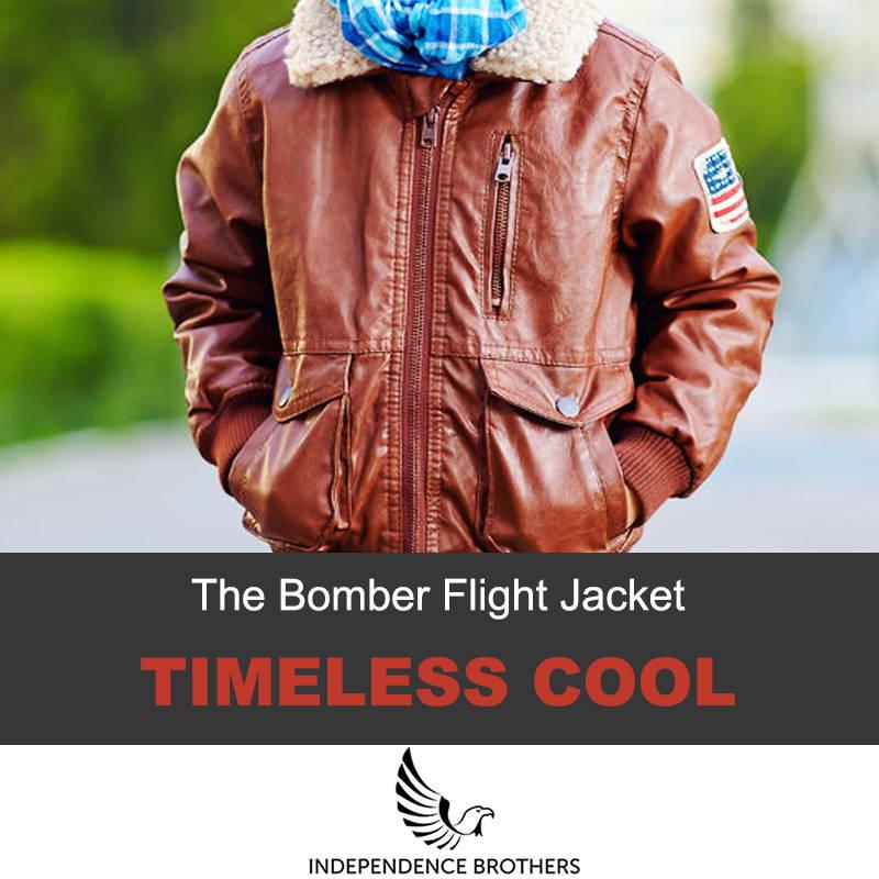 The bomber flight jacket