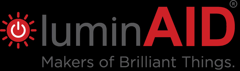 LuminAID logo.