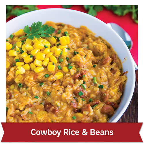 Cowboy Rice & Beans