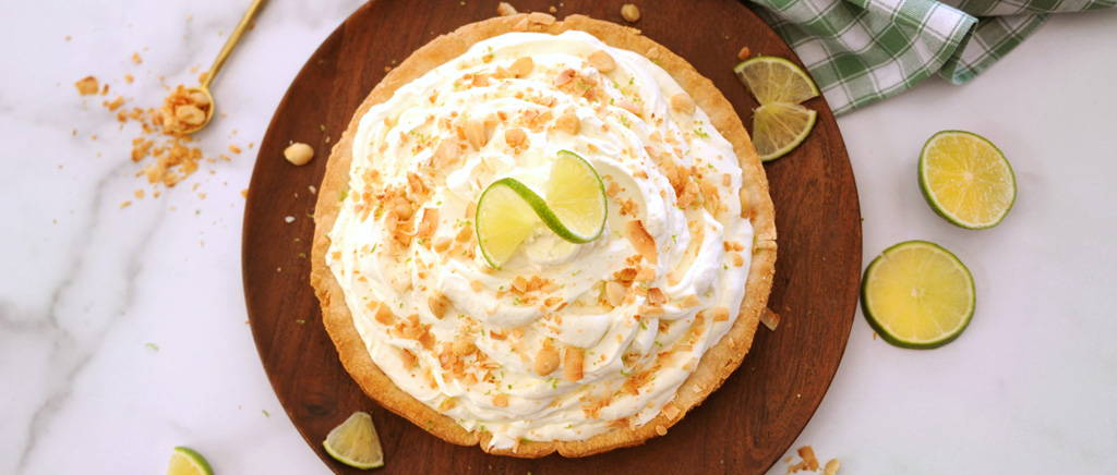 How to Make Mile-High Key Lime Pie