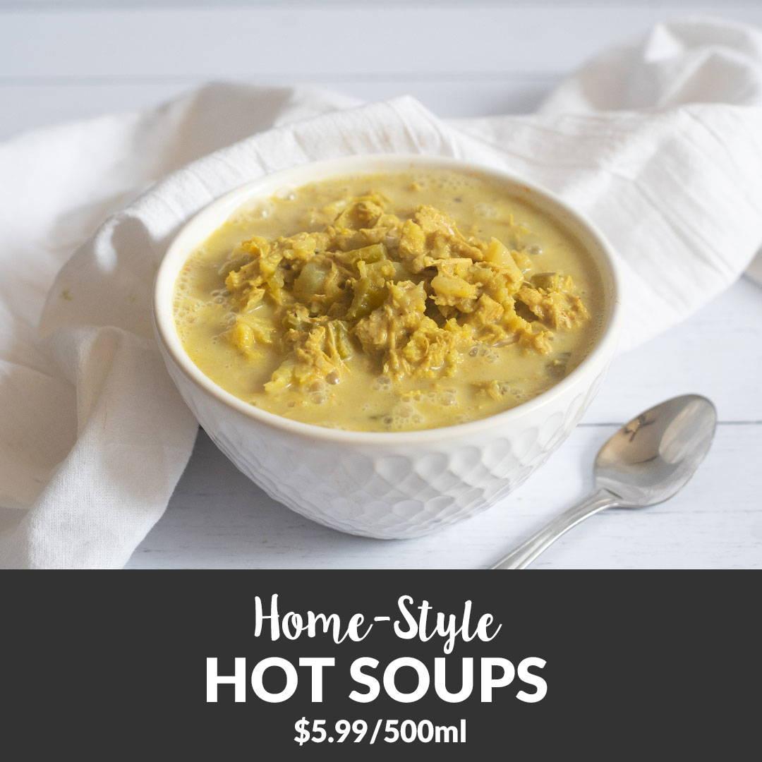 organic soup take out
