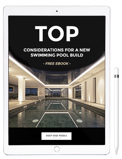 Our TOP considerations for a new swimming pool build - free PDF ebook